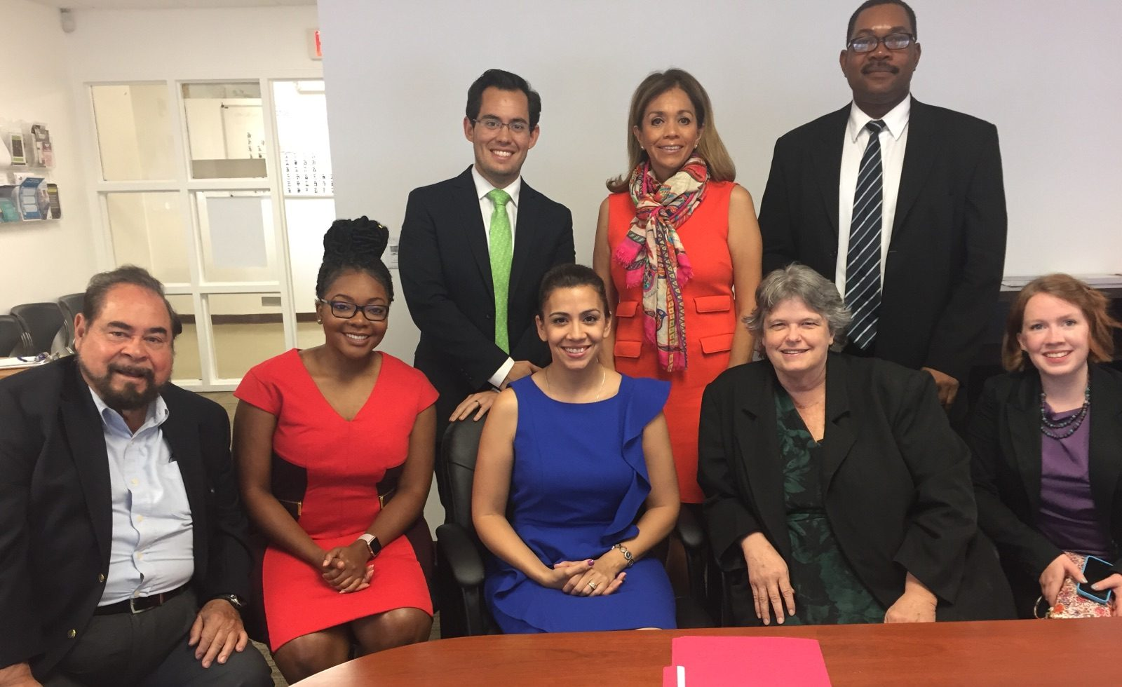 Photo of JFON and Mexican Consulate Staff