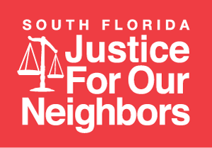South Florida Justice For Our Neighbors Logo